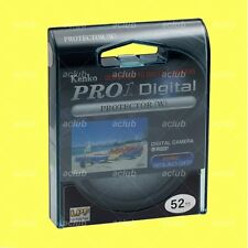 Genuine Kenko 52mm Pro1 D Pro 1 Digital Lens Protector Clear Filter Pro1D Pro 1D