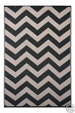 Green Decore Psychedelia Black/Beige Indoor/Outdoor Area Rug 120 x 180 cm