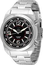 Lew y Huey acionna Automático 200m Divers Watch Negro, Blanco Y Rojo. Reino Unido Vendedor