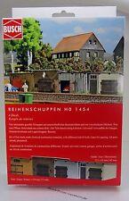 Busch 1454 Bausatz: Reihenschuppen HO