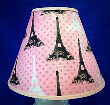 Pink Eiffel Tower Paris Handmade Lampshade Lamp Shade