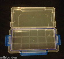 Plastic Waterproof Case Waterproof Container Pencil Box Pastel Box Craft Case