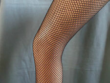 Silky scarlet fishnet tights nylons pantyhose M L XL Nude and black
