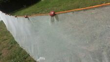 Beach seine/drag net. 20ft (not gill net) Get live Minnowe koi, Sandeel Bait net
