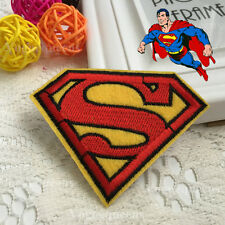 Premium Quality DIY Superman Embroidered Patch Applique Badge Iron on Sew