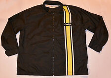 '70s STYLE DODGE CHARGER NYLON LIGHTWEIGHT RACING JACKET! EMBROIDERED LOGO! XL