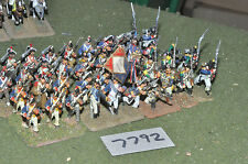 25mm french revolutionary war french infantry 40 figures (7792) metal painted