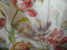 Laura Ashley Gosford Silk Fabric for Curtains etc 2.60m length x 1.40m width