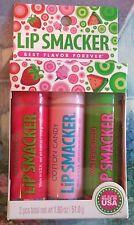 Lip Smacker Biggy Flavor Trio Strawberry, Cotton Candy, Watermelon
