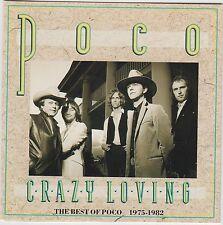 Crazy Loving - The Best Of Poco 1975-1982 - Poco ( MCD 42323 )