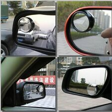 2Pc Auto Car Adjustable Side Rearview Blind Spot Rear View Auxiliary Mirror