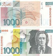 Slowenien / SLOVENIA - 1000 Tolarjev 2000 UNC - Pick 22