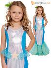 Kids Little Mermaid Ariel Girls Fairytale Fancy Dress Costume Book Week Day