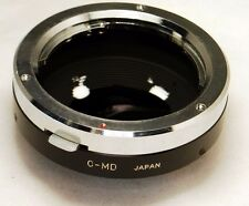 Minolta MD/MC Lens to C Cine mount adapter 16mm Bolex CCTV cameras made in Japan
