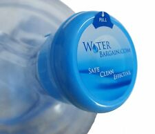 50 PREMIUM NON SPILL WATER COOLER BOTTLE CAPS- WORKS FOR BOTH 3 AND 5 GALLON JUG
