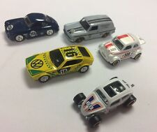 Hot Wheels CarCulture Air Cooled 5 Car Set Volkswagen VW Porsche Fiat MINT LOOSE