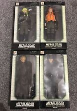 "METAL GEAR SOLID Konami Doll Collection FULL SET - 12"" 1/6 action figures Yamato"