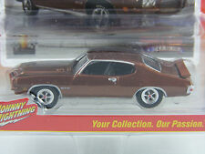 Pontiac GTO 1971 in braunmetallic,Johnny Lightning Muscle Cars USA Rel.1, 1/64
