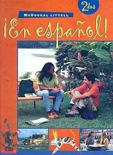 ¡En español!: Student Edition (hardcover) Level 2 2000 (Spanish Edition) MCDOUG