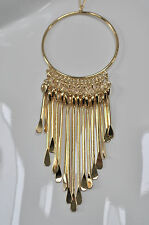 JULES SMITH 14k Plated Yellow Gold Dreamcatcher Pendant Necklace $165 NEW