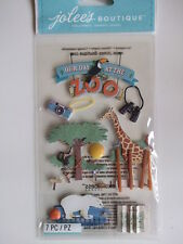 JOLEE'S BOUTIQUE STICKERS - ZOO giraffe polar bear monkey animals