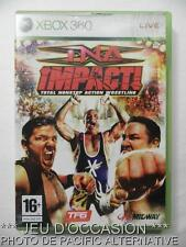 OCCASION: Jeu TNA IMPACT wrestling xbox 360 microsoft game francais action catch