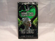 STAR TREK CCG FIRST CONTACT SEALED BOOSTER PACK OF 9 CARDS