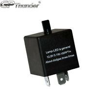 Adjustable 60-180min 3 Pin CF14 EP35 Car Flasher Relay Fix LED Light Hyper Blink