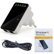 300Mbps Wireless N Router Repeater AP Client Bridge with WPS,2 Ethernet port
