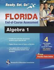 Florida FCAT and End-Of-Course Test Prep: Algebra 1 by Elizabeth Morrison and Jo