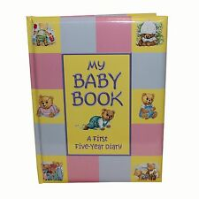 Baby Record Book Baby Keepsake Diary Birth to 5 Yrs Padded Hardback Unisex