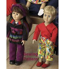 "Kwik Sew K3091 Pattern Kwik Start Learn to Sew 18"" Dolls Clothes BN"