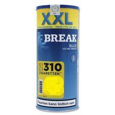 6 X Break Blue Volumen Tabak á 140 Gramm Zigarettentabak / Tabak