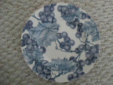 ROYAL STAFFORD BORDEAUX GRAPES SALAD PLATE ABOUT 8.5""