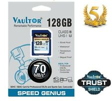 VAULTOR 128GB CLASS 10 SDXC ULTRA PRO SPEED SAN STORAGE DISK MEMORY CARD 70MB