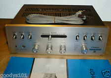 Vintage NOS Sanyo DCA 1700X 4 Channel Decoder with Pre Power Amplifier
