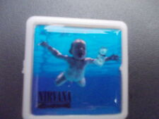 NIRVANA NEVERMIND  ALBUM COVER    BADGE PIN