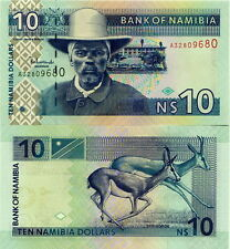 NAMIBIA - 10 dollars 2008 FDS - UNC