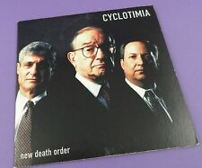 CYCLOTIMIA ‎– New Death Order CD EP - Limited Edition of 500  - Unused Stock!