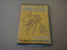 MODERN COIN MAGIC 4 DVD SET MORE THAN 170 SLEIGHTS & TRICKS ILLUSIONS VANISH