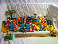 Lot 40+pcs Sesame Street Tyco ILLCO Muppets Figures Collectibles Vintage-present