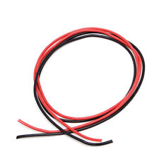 New 14 AWG Silicone Gauge Wire Flexible Copper Stranded Cables For RC Black Red