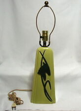 MID CENTURY VINTAGE EAMES ERA TALL TABLE LAMP with MODERN DEER DESIGN