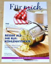 Weight Watchers Meine Woche 1.2 - 7.2 Für Mich ProPoints 2015 Wochenbroschüre