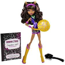 2013 Monster High Target Power Ghouls Clawdeen WonderWolf