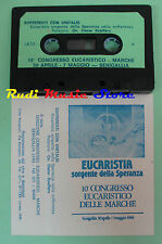MC ON. OSCAR SCALFARO Sofferenti con unitalsi Eucaristia 1989 no cd lp dvd vhs