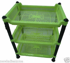 Plastic basket  3 Tier Vegetable Fruit Kitchen Bathroom shelf Storage Rack