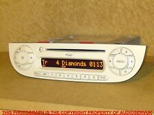 FIAT 500 CD MP3 PLAYER WITH CODE. IN IVORY / CREAM. BOSCH 312 SB12 FROM 2015 CAR