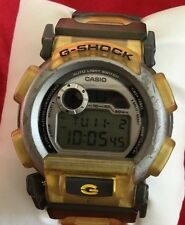 Authentic Casio G Shock DW-003 G-Lide Digital Watch for Men Jelly Yellow & Gray