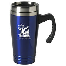 University of California, San Diego-16 oz. Stainless Steel Mug-Blue